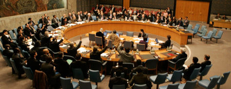 Image: Security Council vote