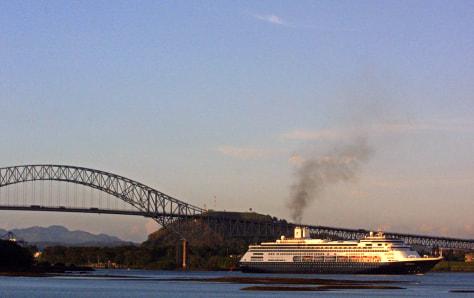 Image: Panama cruise