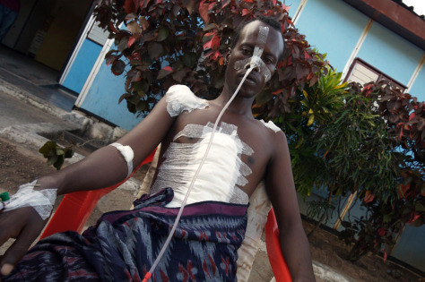 Image: Somali violence victim