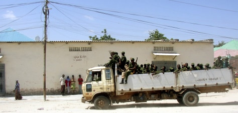 IMAGE: TROOPS IN MOGADISHU
