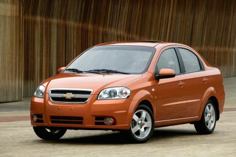 Image: Chevrolet Aveo LT