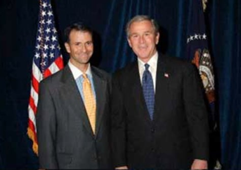 IMAGE: President Bush and Jack Abramoff