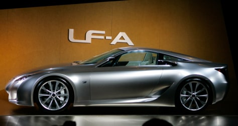 Lexus super-car