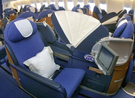 Image: Business-class amenities