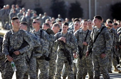 Members Of The 82nd Airborne Deploy To Iraq