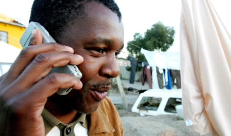 To match feature TELECOMS AFRICA RURAL