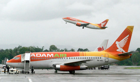 Image: Adam Air planes