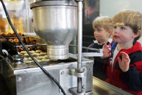 Image: Kids at Mighty-O Donuts