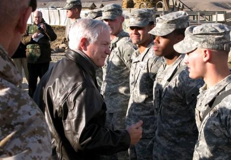 IMAGE:Defense Secretary Robert Gates