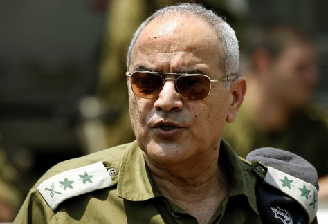 IMAGE: Israeli Army Chief of Staff Lt. Gen. Dan Halutz