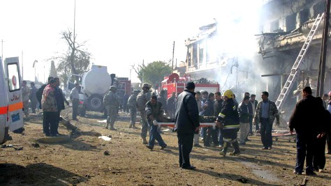Image: Kirkuk bombing