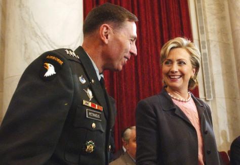Hillary Rodham Clinton, David Petraeus