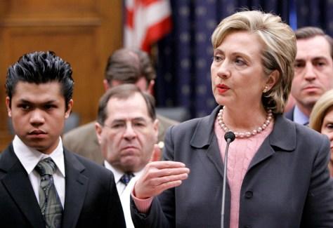 Image: Clinton, Borja