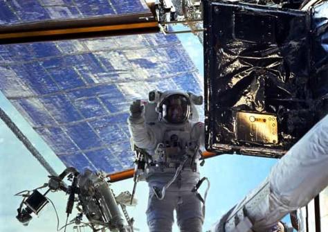 Image: Astronaut John Grunsfeld