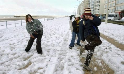 IMAGE: SNOW IN BELGIUM