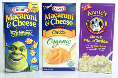 Image: Organic macaroni and cheese