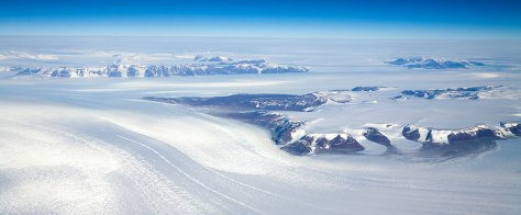 IMAGE: GLACIAL ICE ON ANTARCTICA