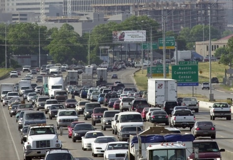 Image: Traffic in Austin, Texas