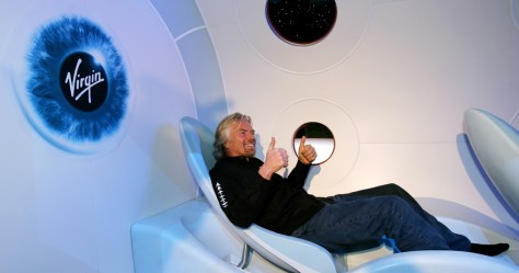 Image: Branson in mock-up