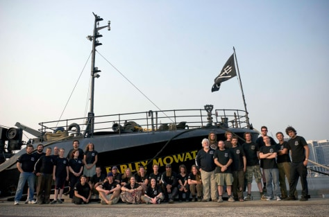 IMAGE: SEA SHEPHERD SHIP AND CREW