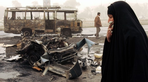 IMAGE: Baghdad bomb aftermath