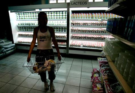 IMAGE: VENEZUELA SUPERMARKET