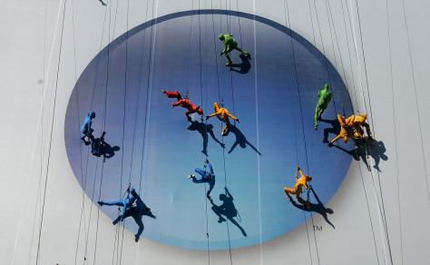 Microsoft dancers
