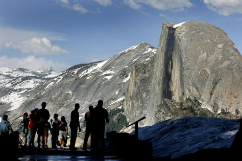 IMAGE: HALF DOME IN YOSEMITE