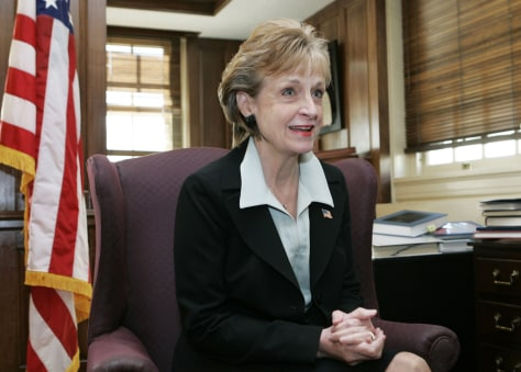 Former White House Counsel Harriet Miers
