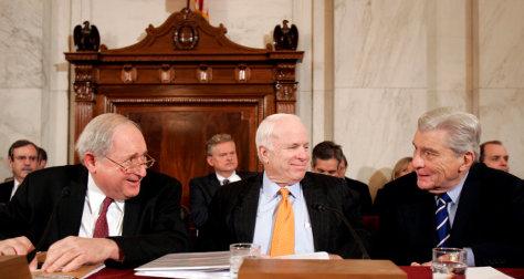 IMAGE: Carl Levin, John McCain, John Warner