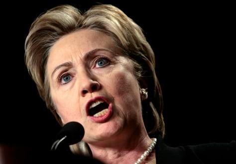 Senator Hillary Clinton (D-NY)