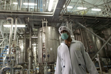 IMAGE: Technician at nuclear facility