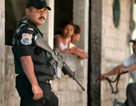 Image: Mexico police