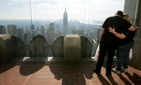 Image: Couple in the Big Apple