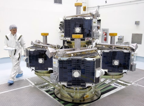 Image: THEMIS spacecraft
