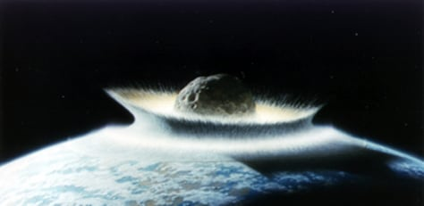 Image: Asteroid collision