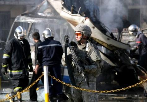 Image: Blast scene