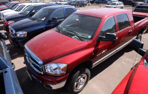 Image: 2006 Dodge Ram pickup trucks