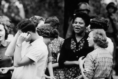 IMAGE: LITTLE ROCK STUDENTS IN 1957