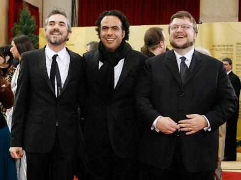 Alfonso Cuaron, Alejandro Gonzalez Inarritu and Guillermo Del Toro