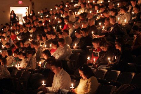 Image: Memorial service