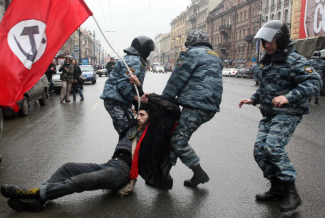 Image: Russian riot police