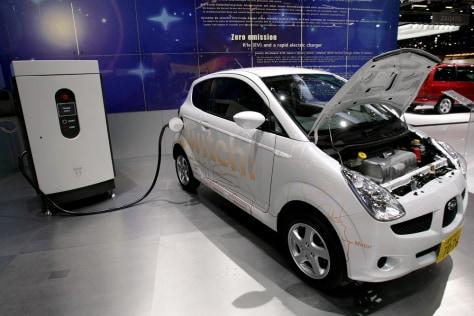 Image: Subaru R1e Electric