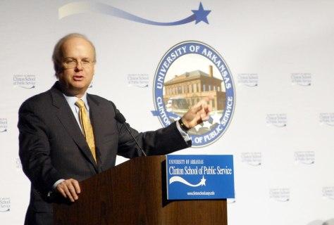 Presidential adviser Karl Rove