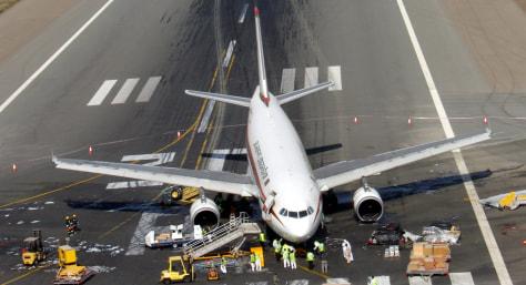 Image: Airbus A-310 jet of Biman Bangladesh Airlines Flight 006