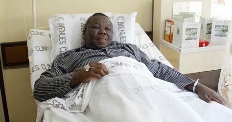 Zimbabwean opposition leader Morgan Tsva