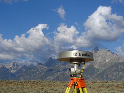 Image: Global Positioning System antenna