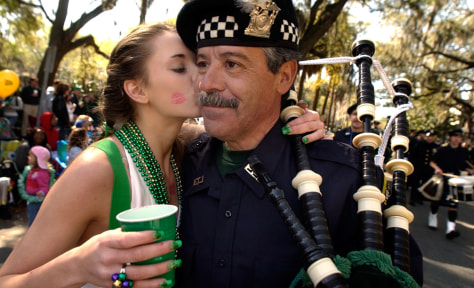 Image: St. Patrick's Day parade