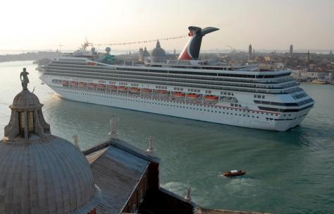 Image: Carnival Freedom in Venice