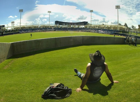 Image: Spring training in Phoenix